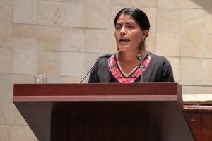 Una cultura de paz para erradicar la violencia, propone Eufrosina Cruz