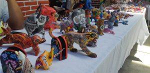 Arranca Decima Expo Feria Artesanal, Gastronómica y Cultural en Santa María Atzompa