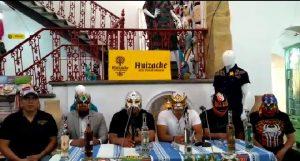 Anuncian la Expo Lucha Libre a realizarse en Santa Lucía del Camino