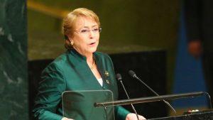 ONU avala a Bachelet como alta comisionada para derechos humanos