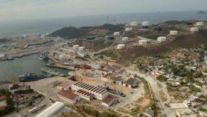 Interrupción eléctrica en la Refinería de Salina Cruz