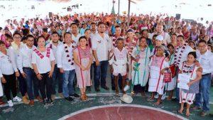 Entregan AMH e IMM diversos apoyos y servicios en Santa María Zacatepec