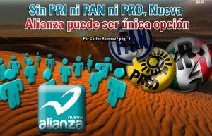 Sin PRI ni PAN ni PRD, Nueva Alianza puede ser única opción: Carlos Ramírez