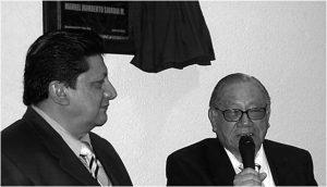 Don Manolo y el Día del locutor: Horacio Corro Espinosa