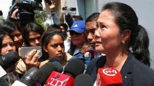 Detienen a Keiko Fujimori por supuesto lavado de dinero