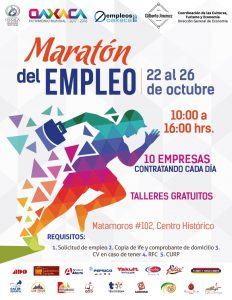 Invitan al segundo maratón del empleo en la capital