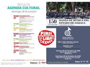 Agenda cultural para este domingo 28 de octubre
