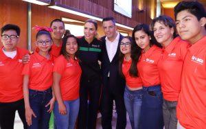 Determinación, disciplina y compromiso de deportistas,  ejemplo para Oaxaca: Alejandro Murat