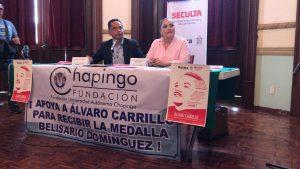 Anuncia Seculta homenaje a Álvaro Carrillo