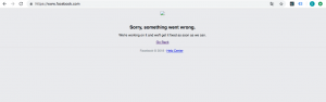Usuarios reportan caída de Facebook en versión web y Android