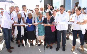 Ivette Morán de Murat inaugura Casa de Día en el municipio de San Pedro Cajonos