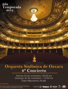 Presenta Orquesta Sinfónica de Oaxaca la suite Lago de los Cisnes