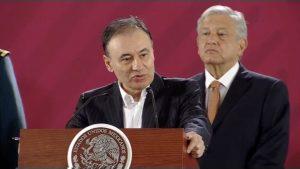 Se protegerán a paisanos de la inseguridad y corrupción: Alfonso Durazo