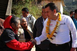 Reafirma Gobierno del Estado su compromiso con la Sierra Mazateca