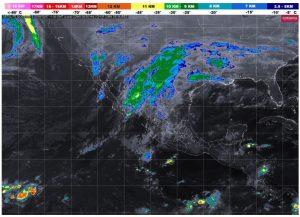 Clima frío y lluvias en la mayor parte del país, alerta el SMN