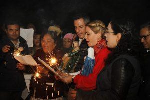 AMH e IMM encabezan posada navideña en San Martín Mexicapan