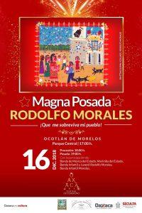 "Invita  Seculta a la Magna Posada ""Rodolfo Morales"""