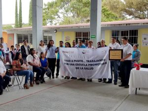 Certifica SSO a Santa Catarina Minas como Comunidad Promotora de Salud