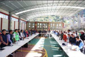En 2018, Gobierno de Alejandro Murat cumple con la Sierra Norte
