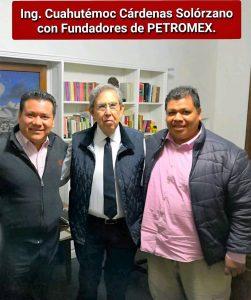 Cárdenas apoya a PETROMEX y al Nuevo Paradigma Sindical: Alfredo Martínez de Aguilar