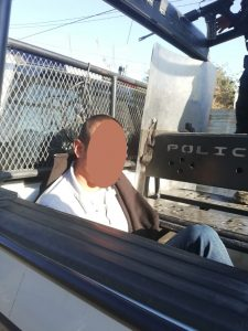 Detiene Policía Estatal a una persona por posesión de droga en Atzompa