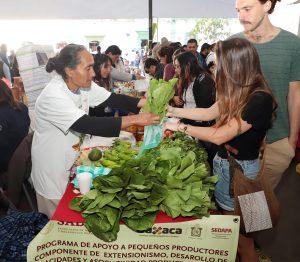 En la 2ª  Feria Agroalimentaria se ofertan  productos 100 por ciento oaxaqueños