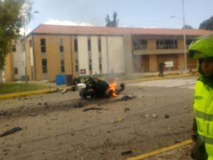 Presidente de Colombia rechaza 'miserable acto terrorista' en Bogotá