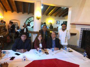 Líder nacional de Morena, Yeidckol Polevnsky respalda a Gaudencio Ortiz Cruz como edil de Tlaxiaco