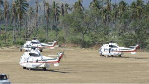 Hay gobernadores que usan helicópteros del gobierno federal, revela AMLO