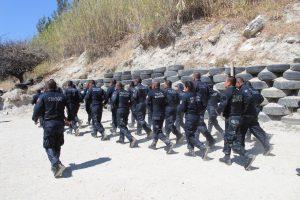 """Participan 37 policías de Oaxaca y Morelos en curso de """"Fortalecimiento Físico y Disciplinario"""""""