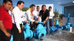 Fortalece gobierno de Alejandro Murat infraestructura hidráulica en Tlacolula