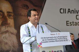 Para bien, cambia Oaxaca, con el nuevo Federalismo: Alfredo Martínez de Aguilar