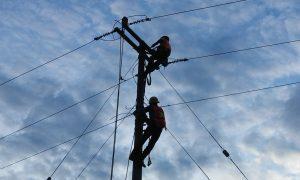 Entrega Sinfra electrificación en Nuevo San Juan, Santa María Chimalapa  con inversión de 6.6 mdp