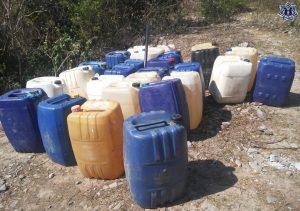 Recuperan cerca de mil 260 litros de hidrocarburo en el Istmo