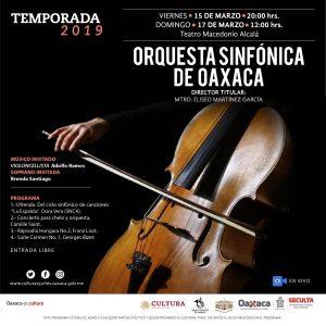 Llegó el día, sonará sinfónica en el Macedonio Alcalá de Oaxaca