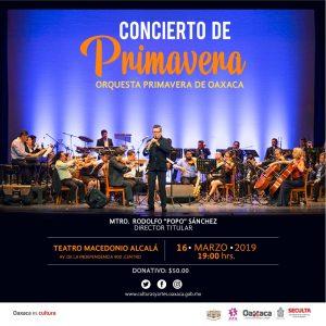 Oaxaca es música, con la Orquesta Primavera de Oaxaca
