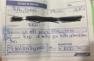 Abuso de autoridad del Presidente municipal: Horacio Corro Espinosa