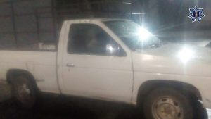 Recupera Policía Estatal  dos camionetas con reporte de robo