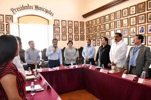 Preside Oswaldo García sesión de instalación del Comité de Salud Municipal 2019-2021