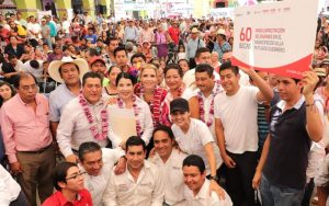 Ivette Morán de Murat encabeza gira «Juntos» en el municipio de Putla Villa de Guerrero
