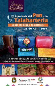 Mostrará Santo Domingo Tomaltepec sus productos en la 9ª Expo Feria del Pan y la Talabartería