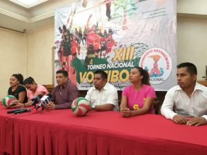 Anuncian Décimo Tercer torneo de voleibol nacional