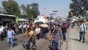 Amagan ambulantes con boicotear 487 aniversario de Oaxaca