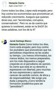 Entre tu chamba y la mía: Horacio Corro Espinosa