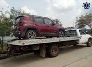 Recupera Policía Estatal tres vehículos robados