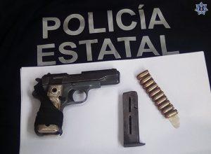 Puesto a disposición por posesión de arma de fuego sin licencia