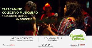 Retoma Seculta música de Tapacamino Colectivo Musiquero