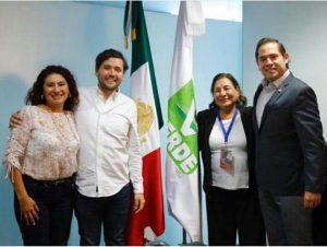Suma Senador Raúl Bolaños Cacho Cué al PVEM a liderazgos del PRD