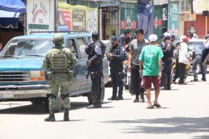 Se unen Ejército y Marina a operativo en la Central de Abasto de Oaxaca