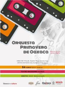 Con un concierto, la Orquesta Primavera de Oaxaca revivirá la música de los años 70 y 80